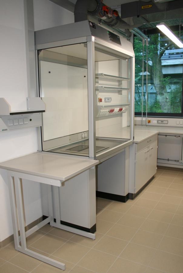Technische Universität Darmstadt - Sanierung Zentrales Chemikalienlager